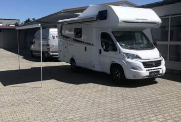 Hire a motorhome in Wendelstein from private owners| Weinsberg Emmamobil