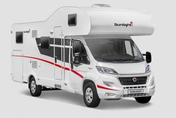 Hire a motorhome in Schwerte from private owners| Sunlight  Lilly 2.0