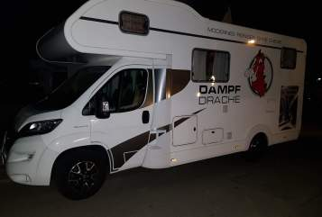 Hire a motorhome in Denkendorf from private owners| Eura DAMPF DRACHE 17