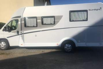 Hire a motorhome in Erzhausen from private owners| Fiat Sunlight T69S Sunlight T69S
