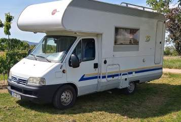 Hire a motorhome in Speyer from private owners| Bürstner MeetingW1