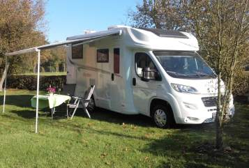 Hire a motorhome in Dorsten from private owners| Forster 649 EB  Sky