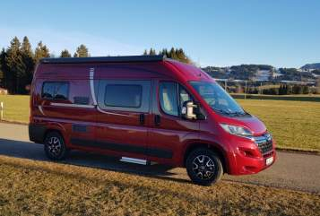 Hire a motorhome in Sulzberg from private owners| Pössl  Alpencruiser