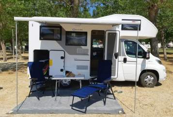 Hire a motorhome in Rosenheim from private owners| Sun Living Herr Rossi