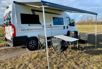 Hire a motorhome in München from private owners| Globecar Emma