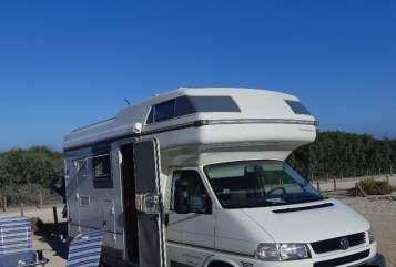 Hire a motorhome in Klipphausen from private owners| VW T4 Karmann Colorado, Klima, 6 Dreipunktgurte Bo - neu/Klima