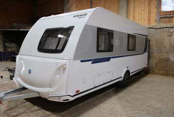 Hire a motorhome in Bischofswiesen from private owners| Knaus Sport Mäxchen