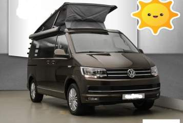 Hire a motorhome in Bochum from private owners| VW T6  California