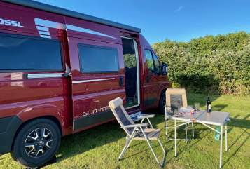 Hire a motorhome in Bochum from private owners  Pössl Reddington