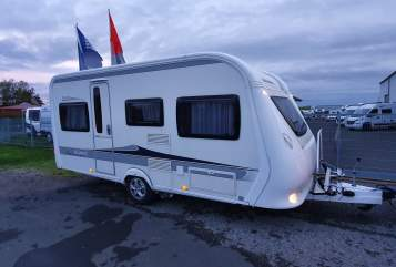 Hire a motorhome in Würzburg from private owners| Hobby Wohnwagen Main-Camper 2