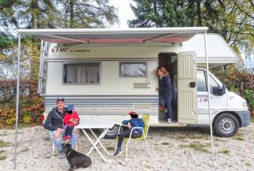 Hire a motorhome in Herbrechtingen from private owners| Fiat Ducato Bruce