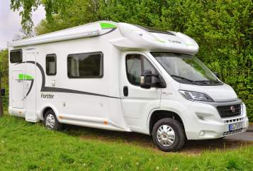 Hire a motorhome in Bielefeld from private owners| Forster Forster T699VB