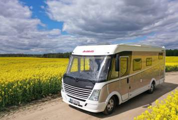 Hire a motorhome in Marienwerder from private owners| Dethleffs Detti