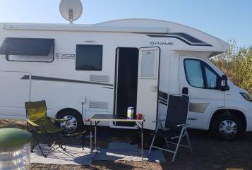 Hire a motorhome in Sondershausen from private owners| Luano Camp Lieselotte