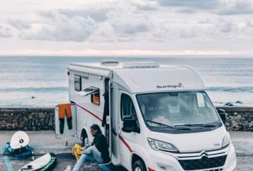 Hire a motorhome in Erfurt from private owners| Sunlight  Jupiter