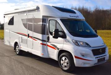 Hire a motorhome in Krayenberggemeinde from private owners| Sunlight T 67 S