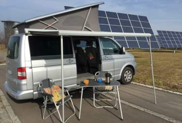 Hire a motorhome in Mössingen from private owners| Volkswagen CaliT5