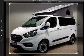 Hire a motorhome in Konstanz from private owners| Nugget Transit Custom Nugget fun