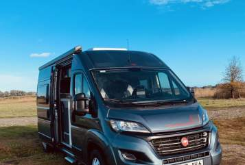 Hire a motorhome in Berlin from private owners| Fiat Ducato Baltic Van