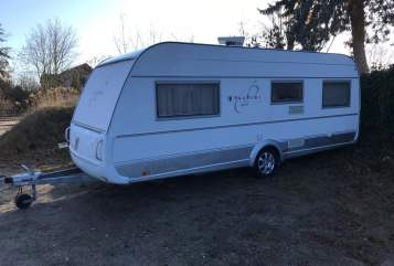 Hire a motorhome in Potsdam from private owners  Tabbert Puccini Puccini