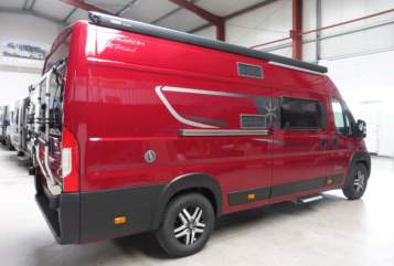 Hire a motorhome in Oberaula from private owners| Karmann Travellino