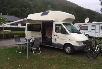 Hire a motorhome in Nordhausen from private owners| Mercedes Benz James der Große