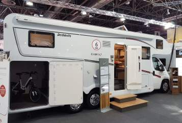 Hire a motorhome in Wuppertal from private owners| Dethleffs Dicker