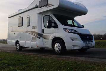 Hire a motorhome in Ahlen from private owners| Fiat Ducato Rimor  Familien WoMo