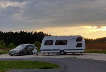 Hire a motorhome in Wildberg from private owners| Dethleffs Esche