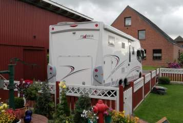 Hire a motorhome in Helse from private owners  Frankia Horst Claußen