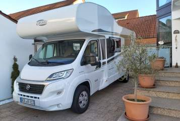 Hire a motorhome in Germersheim from private owners| Carado Carado A464 Som