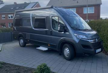 Hire a motorhome in Ahlen from private owners| Pössl Vorhelmer