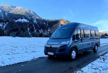 Hire a motorhome in München from private owners| Pössl Pösslchen
