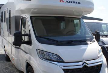 Hire a motorhome in Buchen from private owners| Adria Luxus-Bj.2020