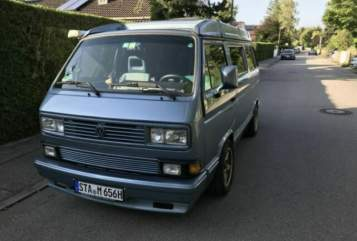 Hire a motorhome in Gilching from private owners| VW Cäptn BlueBär