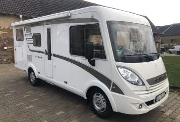 Hire a motorhome in Delitzsch from private owners| Hymer  Hymi