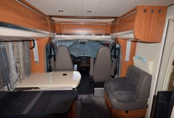 Hire a motorhome in Wuppertal from private owners  Hobby Reiseonkel