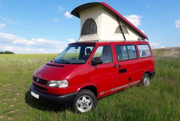 Hire a motorhome in Dresden from private owners| VW T4 Manni