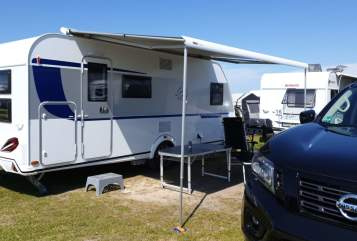 Hire a motorhome in Hiddenhausen from private owners| Knaus Family Camper