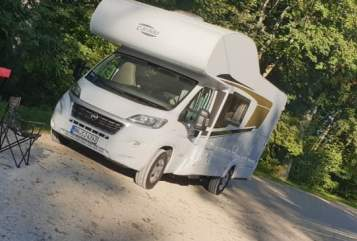 Hire a motorhome in Brackenheim from private owners| Fiat  White Angel