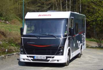 Hire a motorhome in Reichshof from private owners| Dethleffs  WOMO