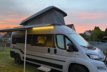 Hire a motorhome in Norderstedt from private owners| Hymer  Hymer Car