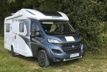 Hire a motorhome in Tübingen from private owners| Knaus Shiro - klimaneutral reisen -