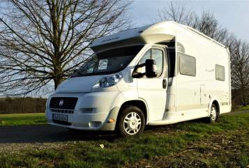 Hire a motorhome in Köln from private owners| Dethleffs Alladin