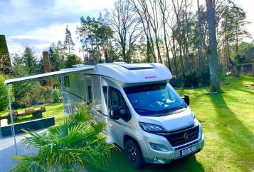 Hire a motorhome in Stelle from private owners| Dethleffs Glämpi