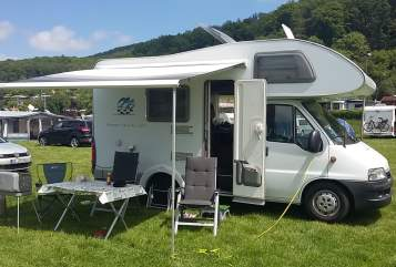Hire a motorhome in Lingen from private owners| Knaus Wanderdüne