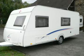 Hire a motorhome in Augustdorf from private owners  Bürstner Luis