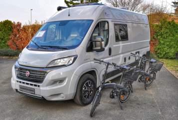 Hire a motorhome in Fürth from private owners| Pössl 600 Plus HD
