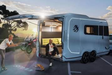 Hire a motorhome in Fürth from private owners| Knaus Der Allrounder
