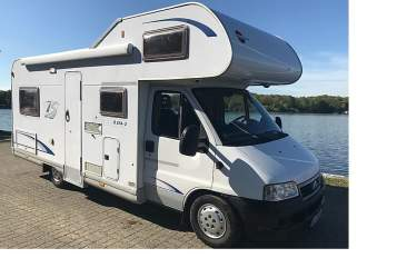 Hire a motorhome in Hamburg from private owners| Fiat Ducato Bürstner 574